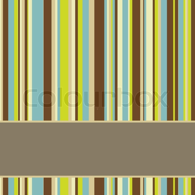 brown blue and green colored striped background with