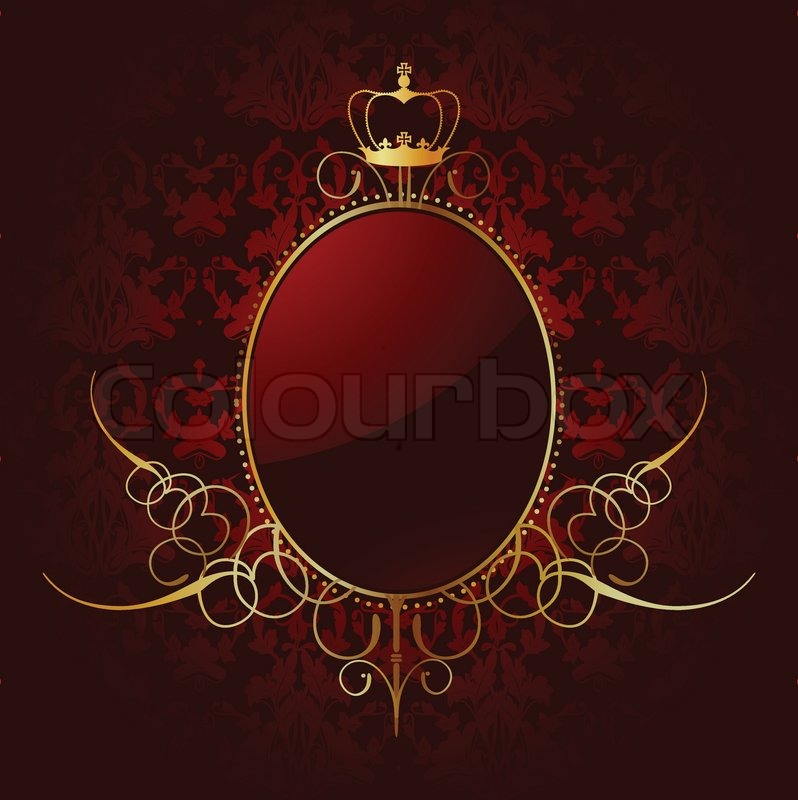 Royal red background w...