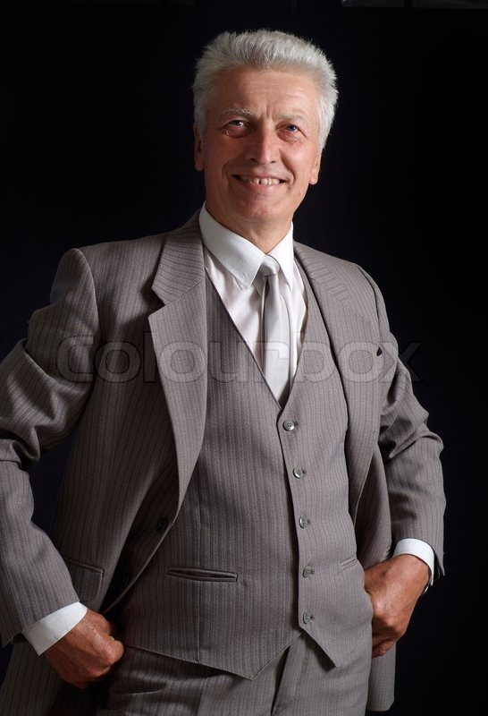 Successful old man in suit stock photo colourbox publicscrutiny Images