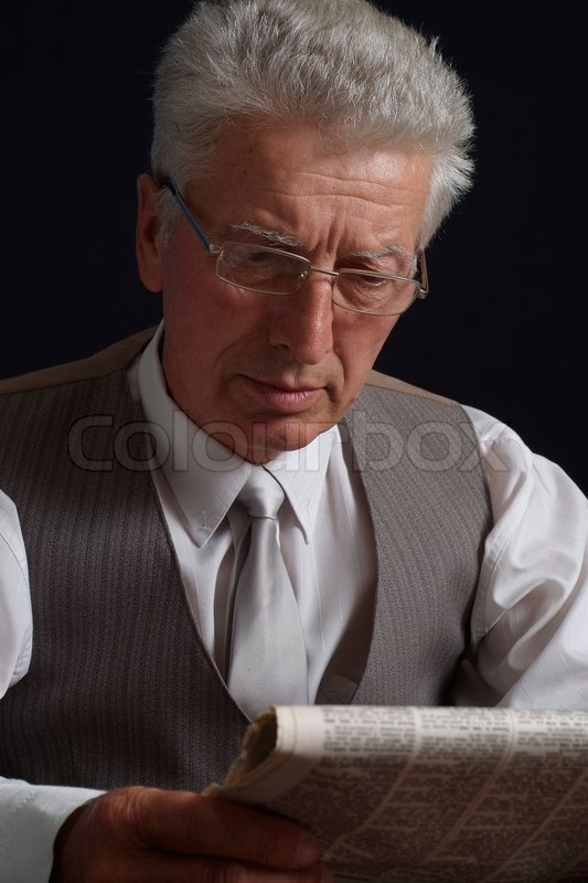 Cool old man in suit stock photo colourbox publicscrutiny Images