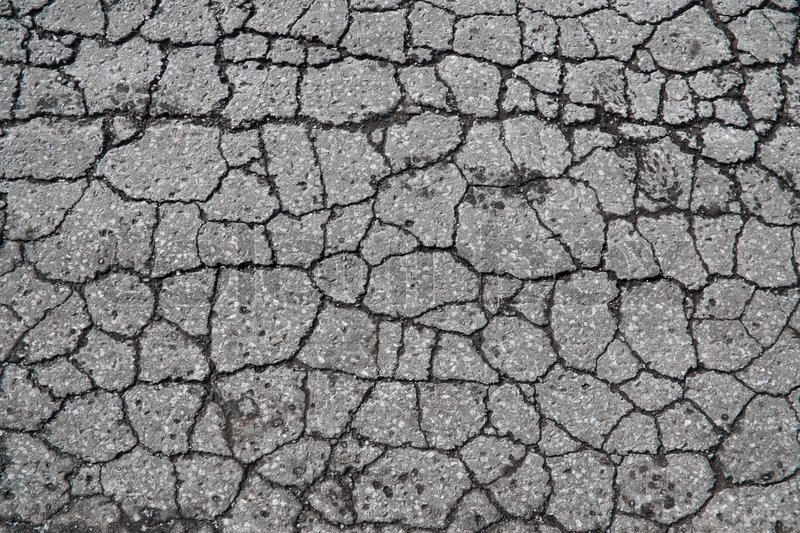 Cracked road texture seamless cloth
