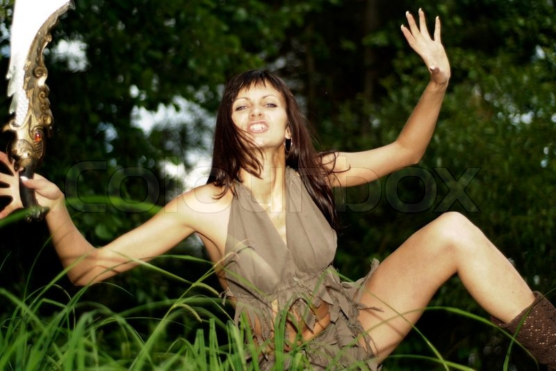 girl in loincloth stock - photo #6