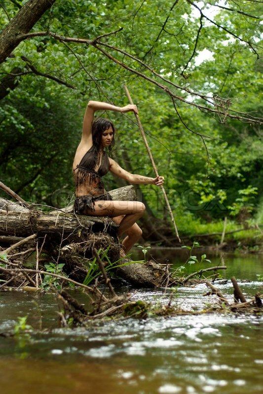 girl in loincloth stock - photo #33
