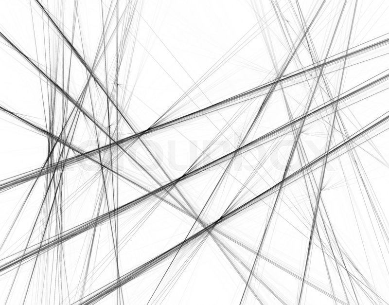 Abstract black and white background with crossing lines stock photo colourbox