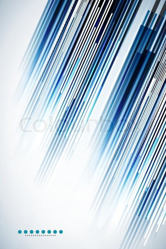 Straight Line Abstract Art : Vector abstract illustration made of straight lines