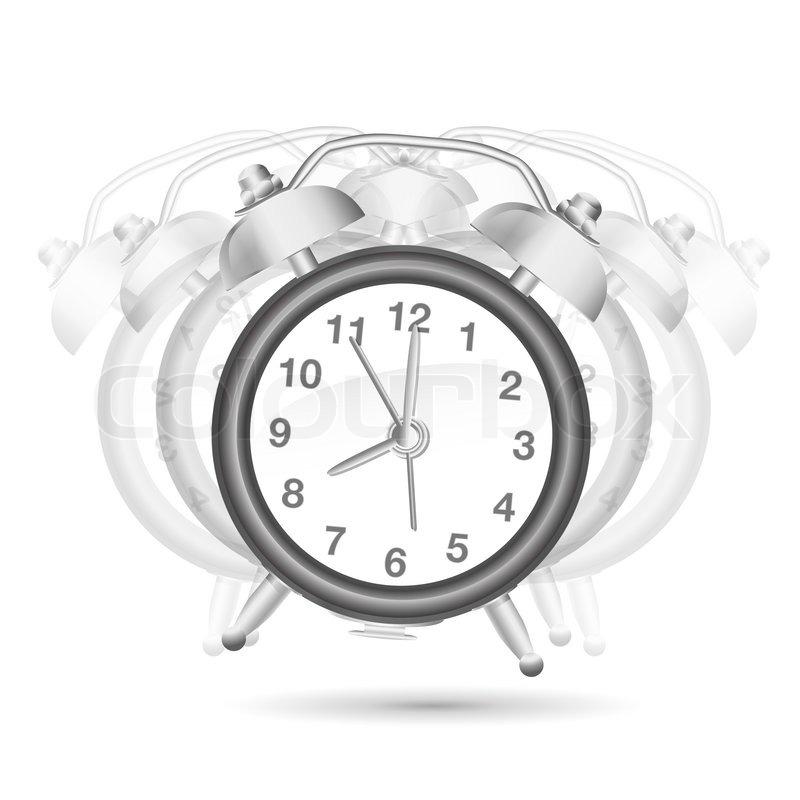 Alarm clock ringing | Stock Photo | Colourbox