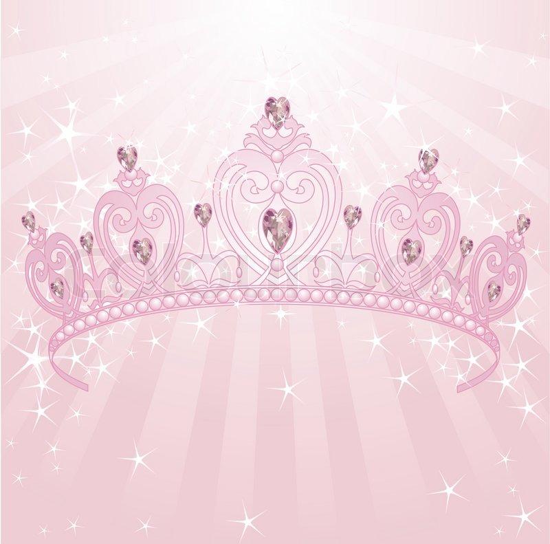 princess crown stock vector colourbox