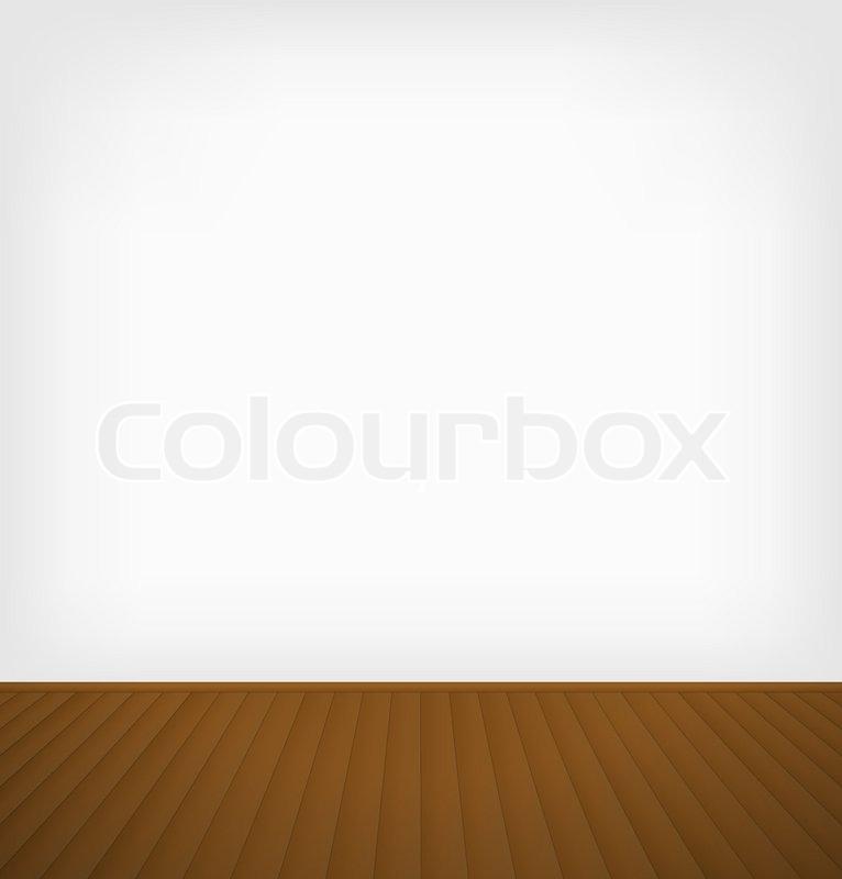 Empty Room Stock Vector Colourbox