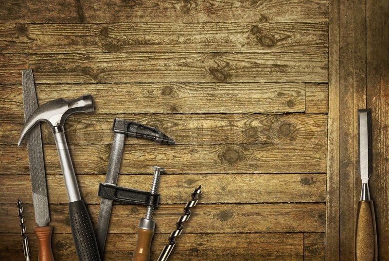 Carpentry Tools Wallpaper