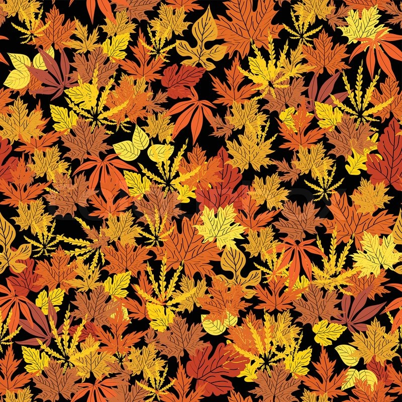 red leaves wallpaper pattern - photo #40