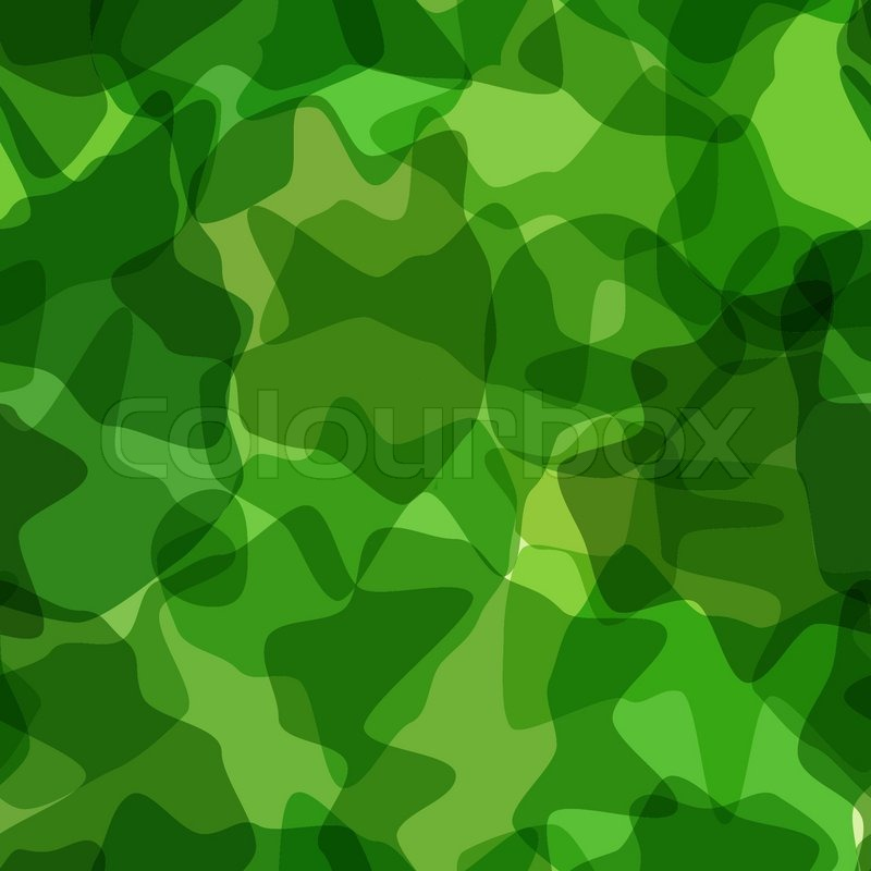 seamless pattern green camouflage stock vector colourbox