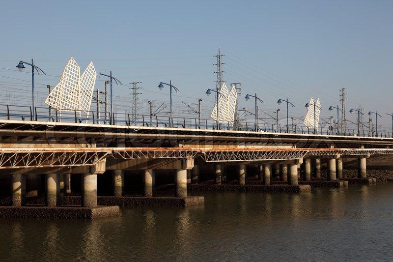 Bridge in el puerto de santa maria andalusia spain stock - Taxi puerto de santa maria ...