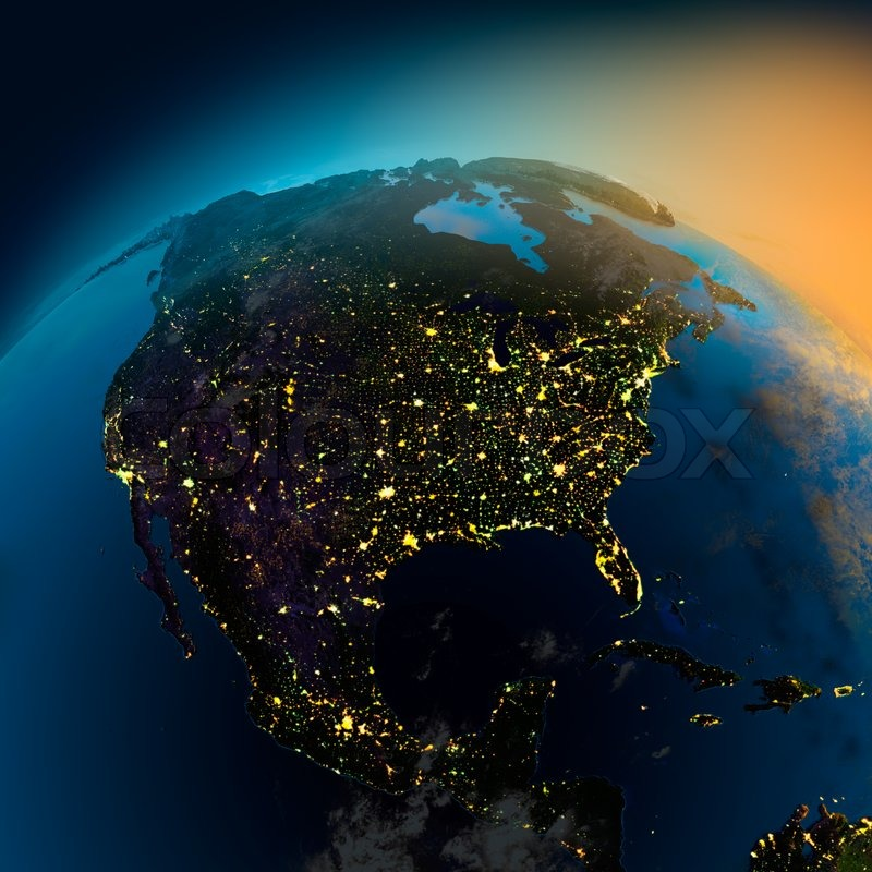 north america from space hd - photo #11