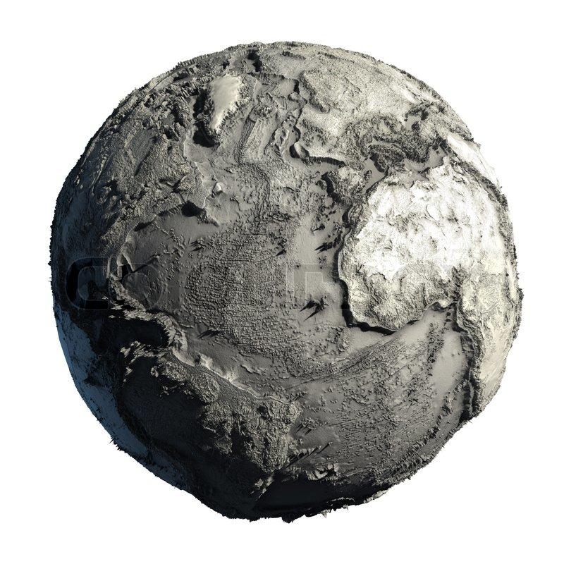 Dead Planet Earth Stock Photo Colourbox