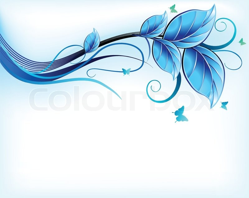 blue flower backgrounds vector - photo #32