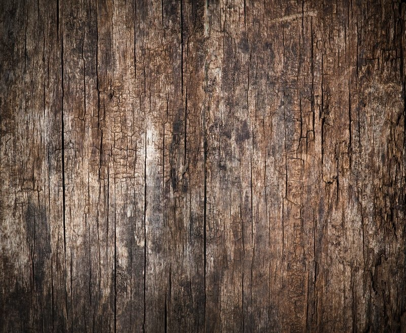 Old Cracked Wood Background High Stock Photo
