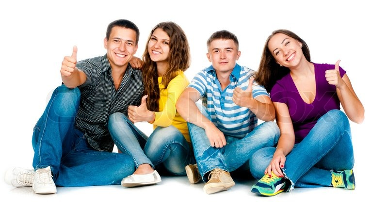 https://www.colourbox.com/preview/4670114-group-of-young-people-with-thumbs-up-in-a-white-background.jpg