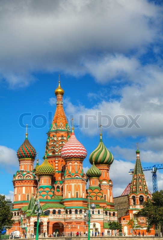 st basilius kathedrale in moskau auf dem roten platz stockfoto colourbox. Black Bedroom Furniture Sets. Home Design Ideas