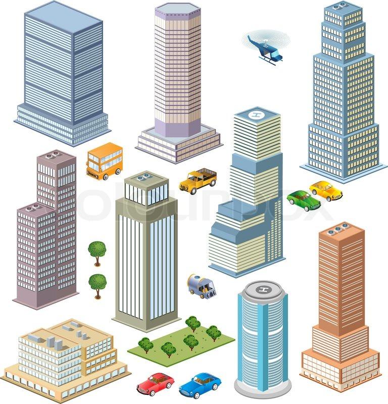 skyscraper stock vector colourbox rh colourbox com singapore skyscraper vector skyscraper vector free
