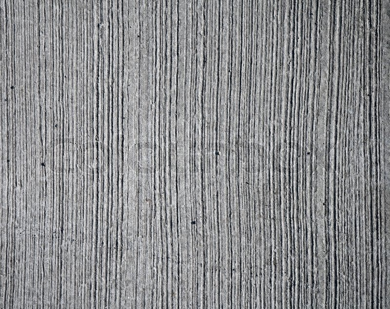 Closeup Rough Gray Concrete Wall Texture With Relief Lines