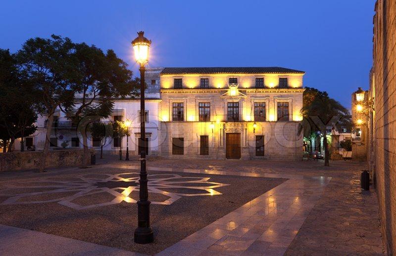 Castle of san marcos square in el puerto de santa maria - Taxi puerto de santa maria ...