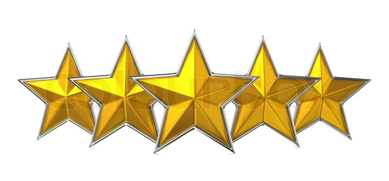Five Star Reward Cocept | Stock Photo | Colourbox