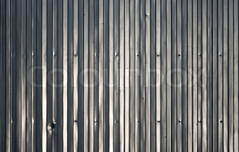 Shining Metal Wall Texture Stock Photo Colourbox