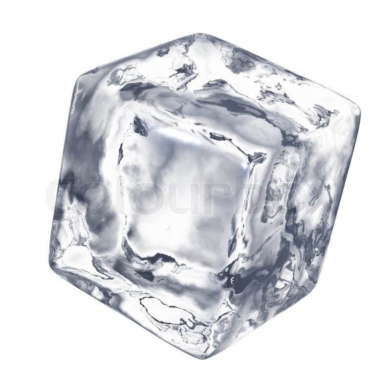Ice cube | Stock Photo | Colourbox