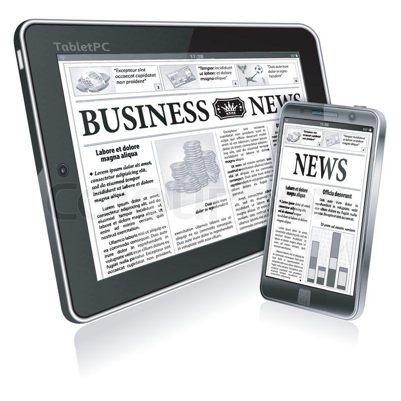 Image of digital newspaper business modles