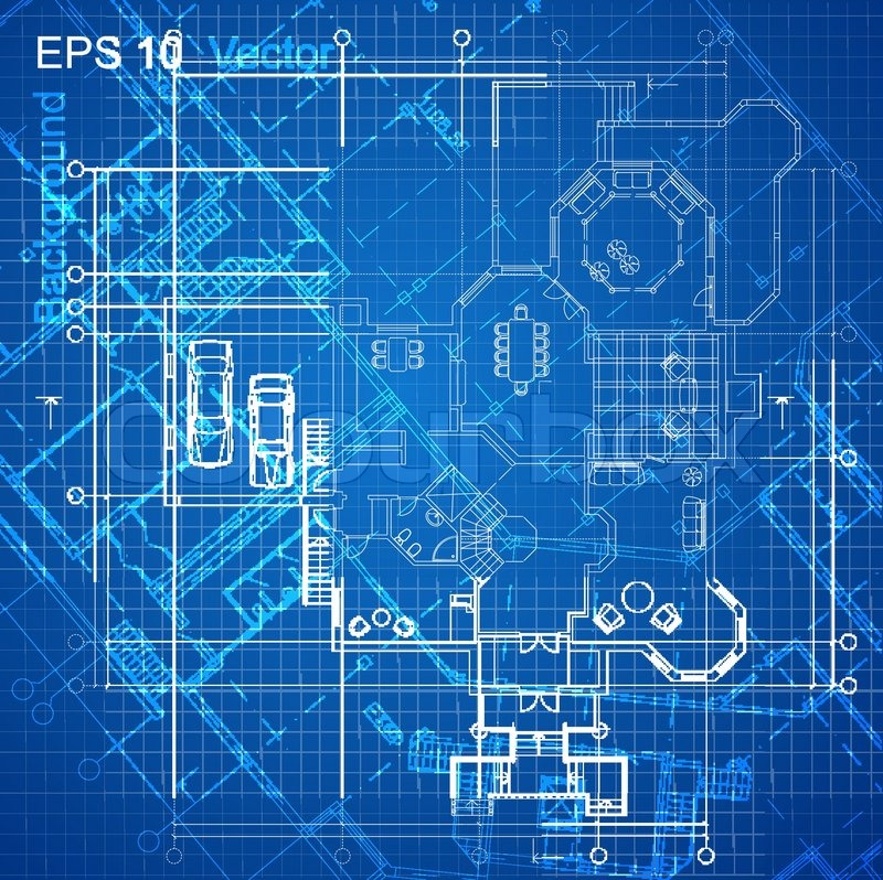 Good Urban Blueprint (vector). Architectural Background. Part Of Architectural  Project, Architectural Plan, Technical Project, Drawing Technical Letters,  Design ...