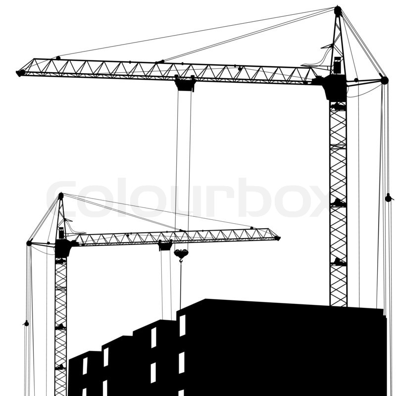 how to build a working model crane