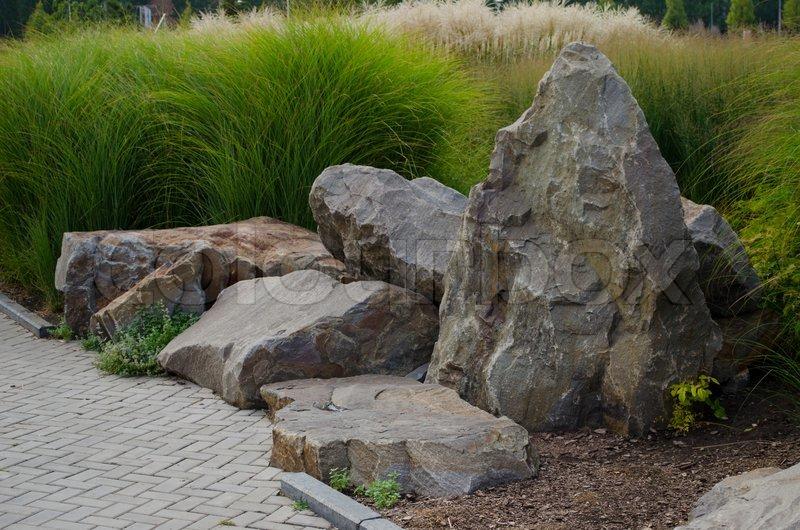 Lovely Big Stones, Stock Photo