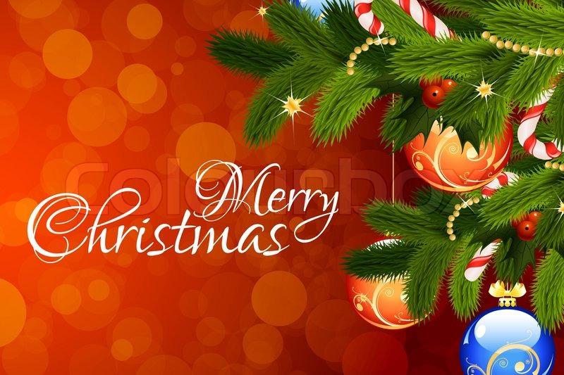 Merry christmas greeting card stock photo colourbox m4hsunfo