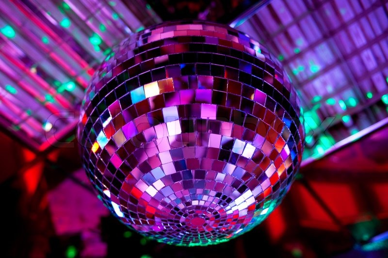 Disco Ball Stock Photo Colourbox