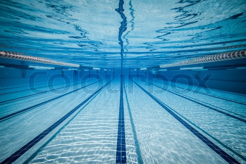 Swimming Pool Lane Lines Background