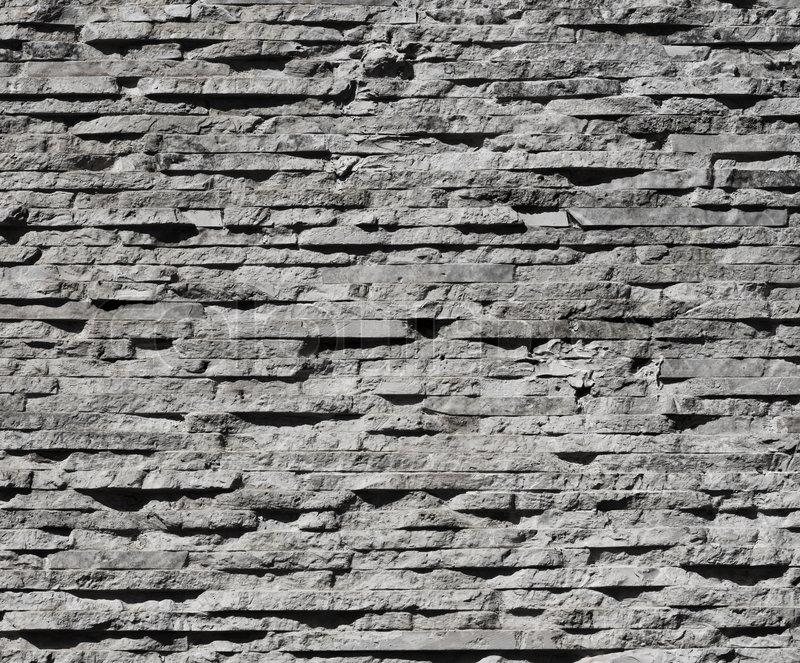 Moderne Stein Wandgestaltung | Stockfoto | Colourbox