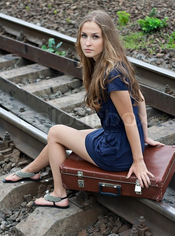 Gorgeous teen in railway threesome part 2 - 2 part 3