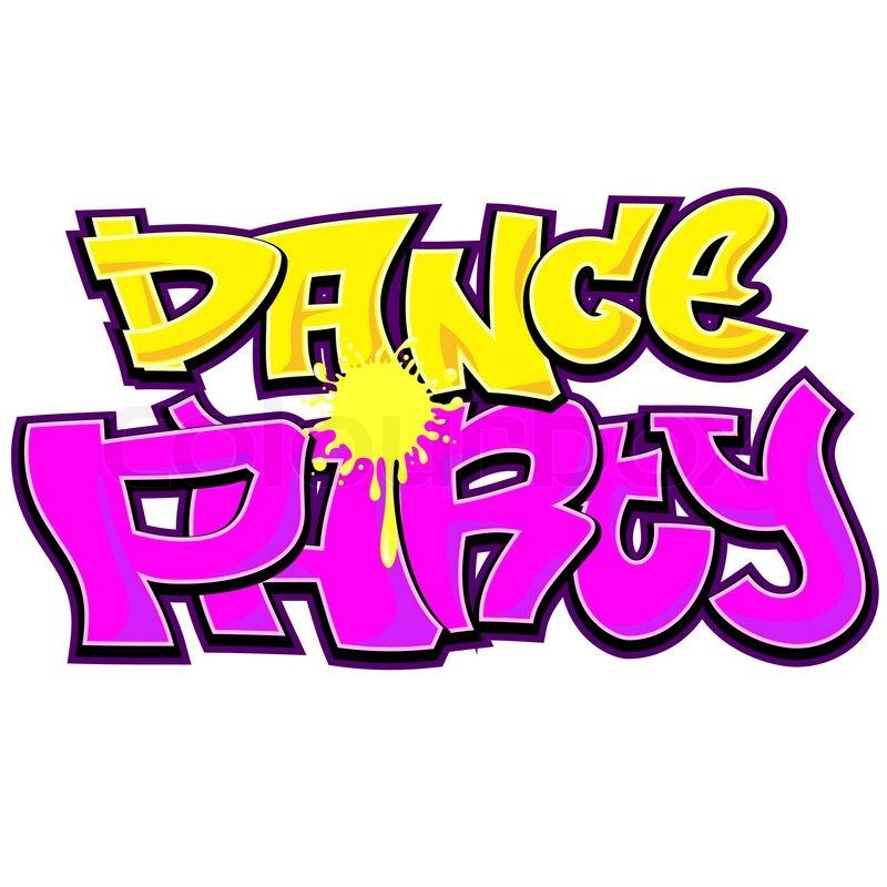 how to write dance in graffiti
