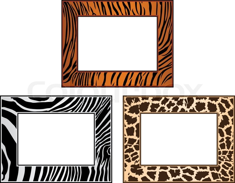 Displaying (18) Gallery Images For Tiger Print Border...