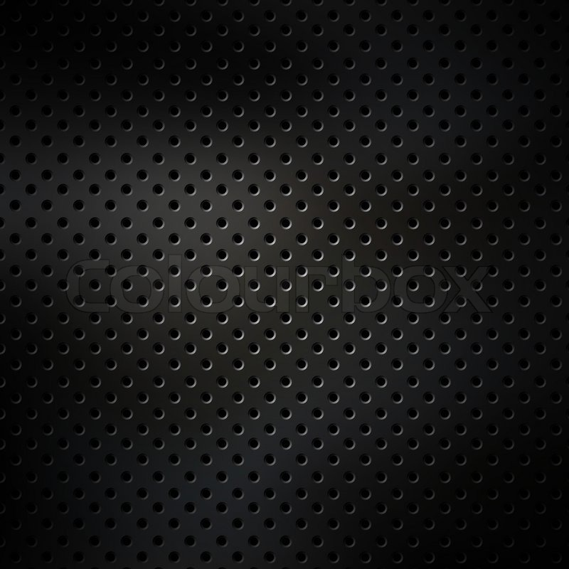Perforated Metal Surface Stock Photo Colourbox