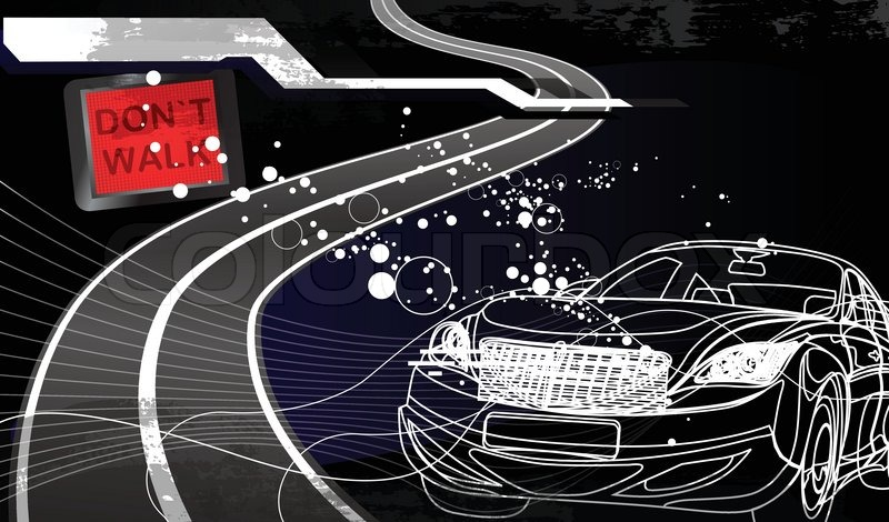 Car Racing Backgrounds Vector Stock Vector of 'car Racing