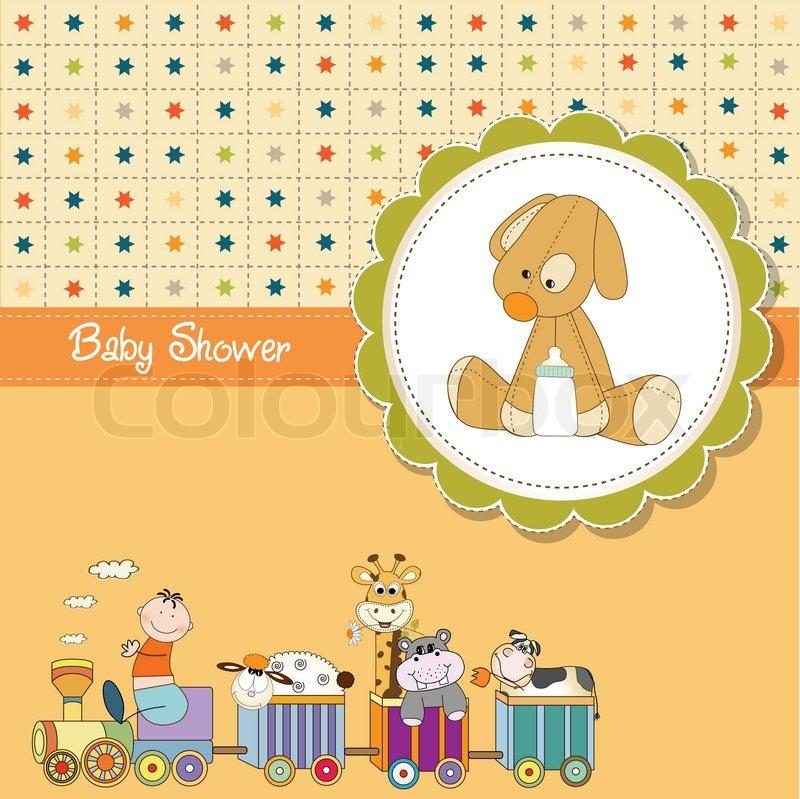 Baby Shower Wiki: Glad, Giraf, Tog