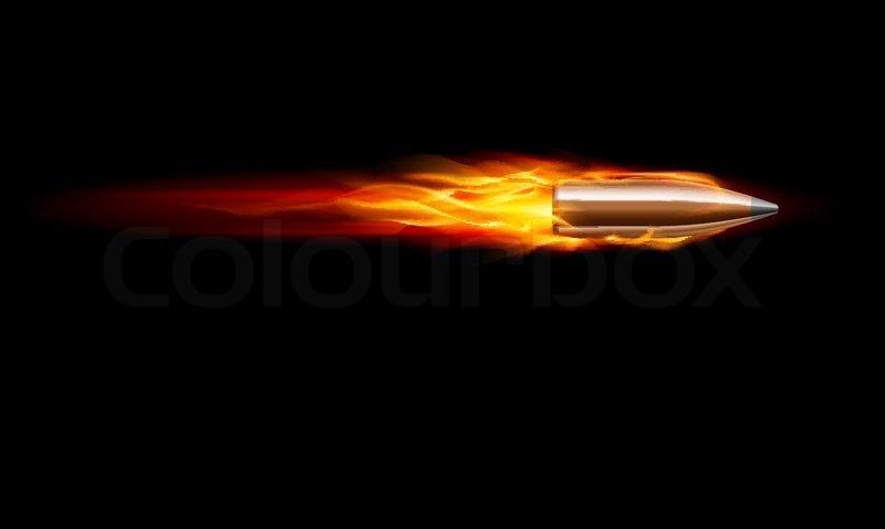 Gun Bullet Shot   Vect...