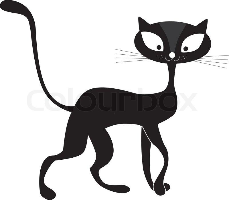 Tiere, Kunst, Hintergrund, schön, schwarz, Cartoon, Katze, Clip ...