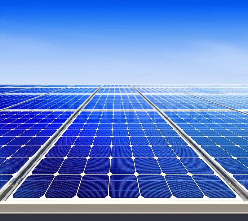 Renewable Alternative Solar Energy Sun Power Plant