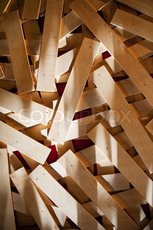 Wood Texture Background Overlapping Stock Photo