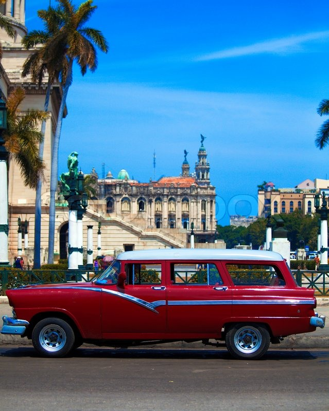 Your Old Collector Car Is Here In Cuba