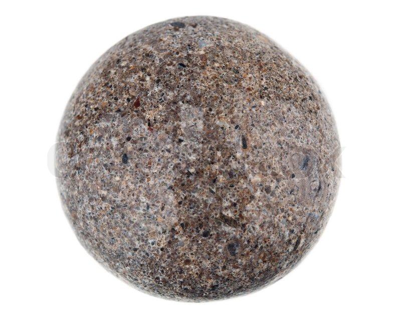 Round stone | Stock Photo | Colourbox