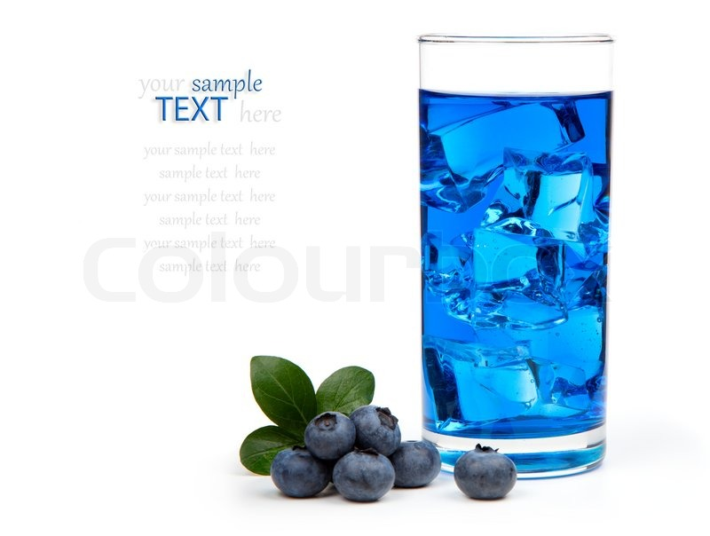 Blueberry Mixed Drinks