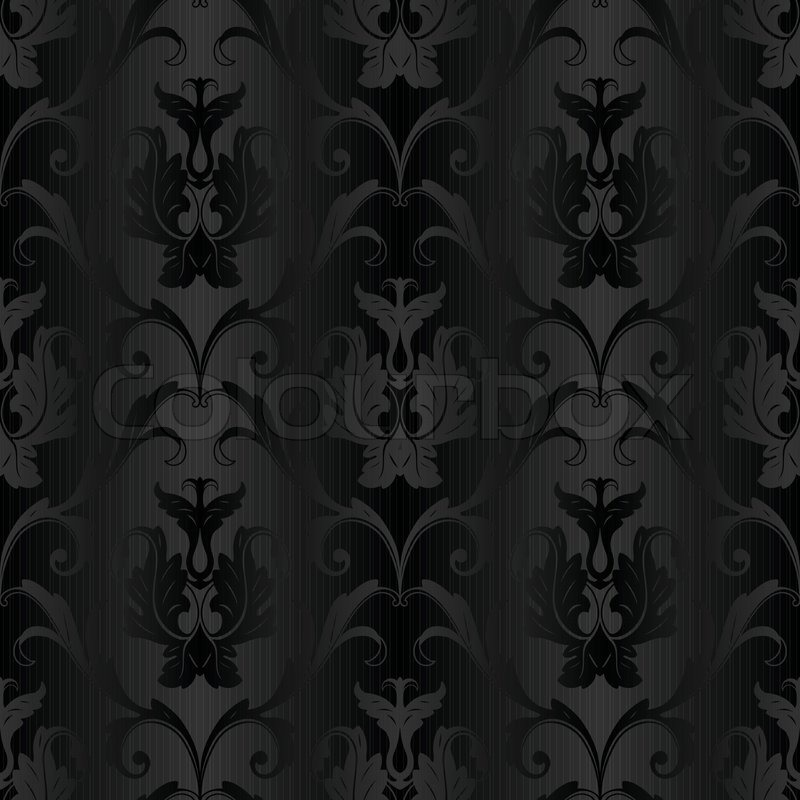 800px COLOURBOX4723009 - Schwarze Tapete Mit Muster